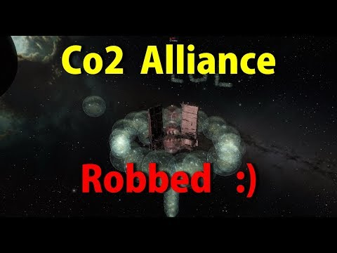 Circle of Two (Co2) Alliance Robbed !!! - EVE Online