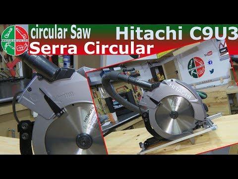 Serra Circular Hitachi C9U3 - Circular Saw Hitachi C9U3