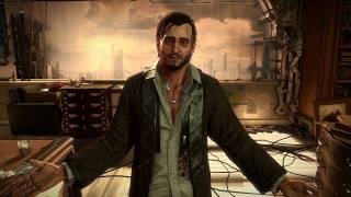 Deus Ex Mankind Divided - Talos Rucker conversation all options (non-lethal)