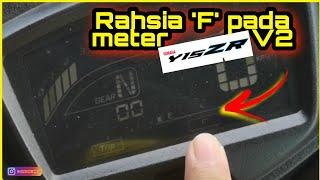 "Download V#60 Rahsia ""F"" pada meter Yamaha Y15ZR V2 | Jarang2 Keluar Function Nih...."