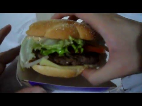 [ASMR]Eating Mcdonald's Classic Beef with chicken-bacon burger[eating sounds][no talking]
