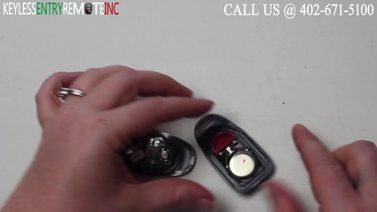 How To Replace Hyundai Santa Fe Key Fob Battery 2009 2010 2011 Youtube
