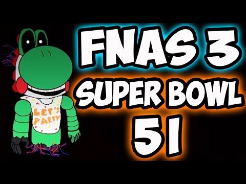 FNAS 3 CUSTOM NIGHT - SUPER BOWL 51 MODE | FIVE NIGHTS AT SONIC'S 3