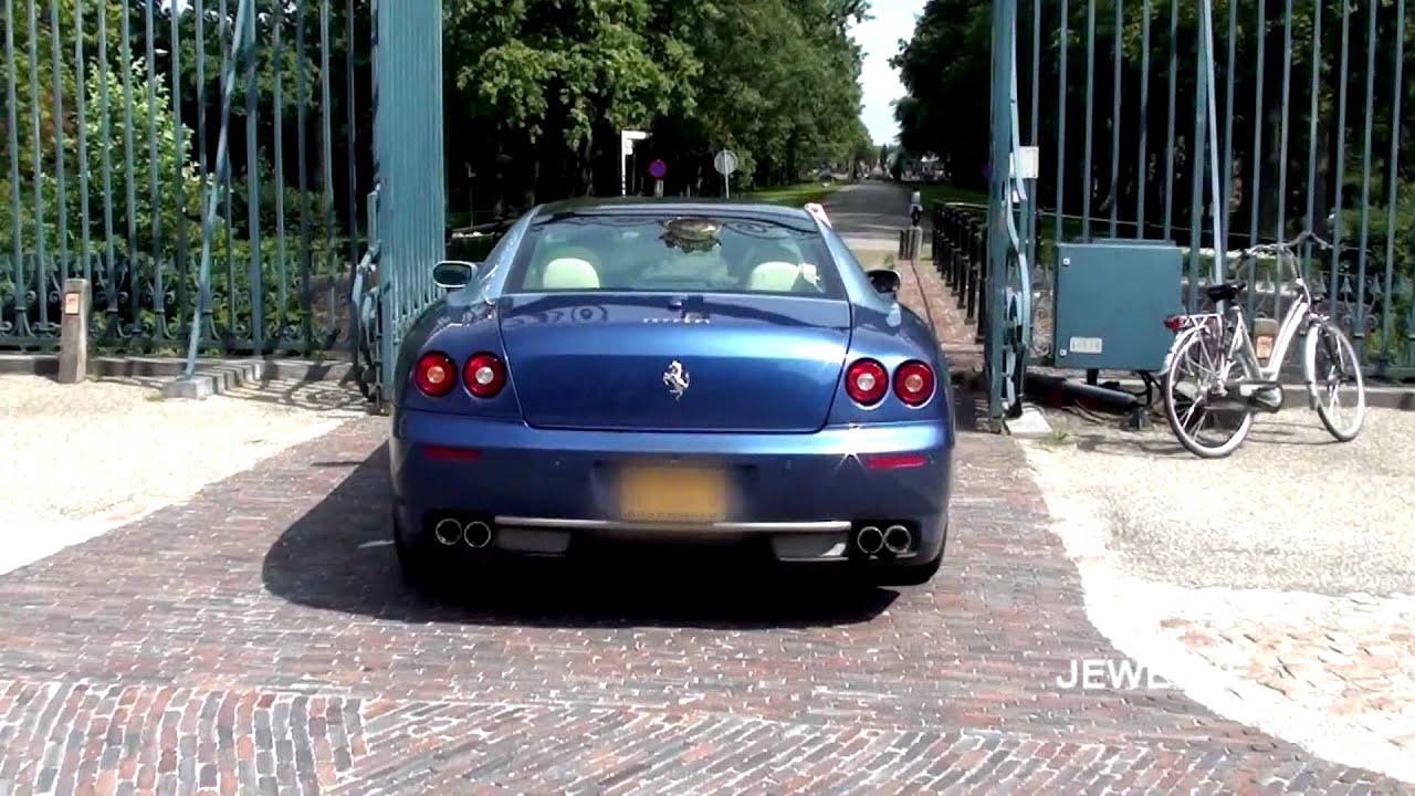 Ferrari 612 Sessanta INSANE Revs and FULL THROTTLE acceleration (1080p Full HD)