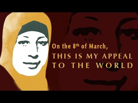 On the 8th of March,  This is my appeal to the world