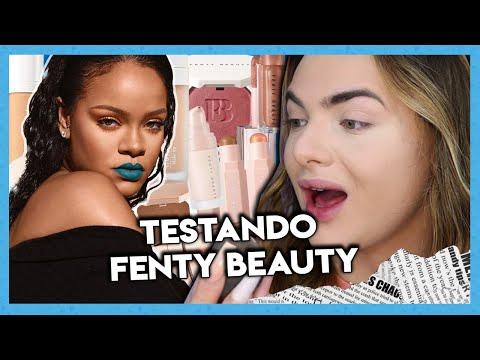 ME MAQUIANDO SÓ COM FENTY BEAUTY ✨ from YouTube · Duration:  31 minutes 46 seconds