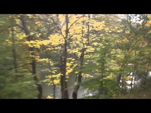 Fall Foliage along Cuyahoga Valley Railroad in Peninsula, Ohio
