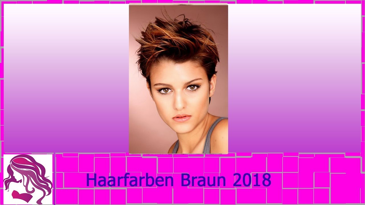 haarfarben trends braun 2018 youtube. Black Bedroom Furniture Sets. Home Design Ideas