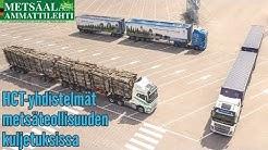 HCT-yhdistelmät metsäteollisuuden kuljetuksissa - Positiivisia kokemuksia