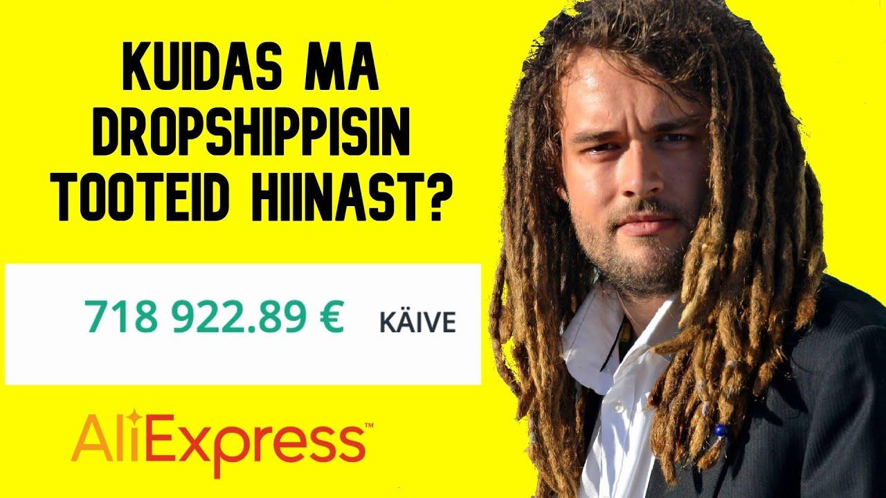Kuidas ma tegin 718 922€ käivet Dropshippides Eestis?