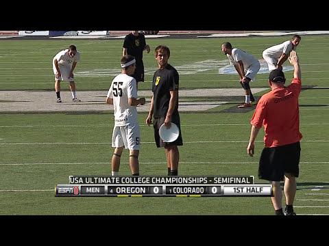 Colorado v. Oregon (2014 College Men's Semi)
