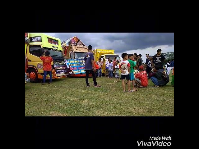 Lampung truck comunity koridor kota bumi..