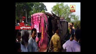 Bus accident in Murshidabad