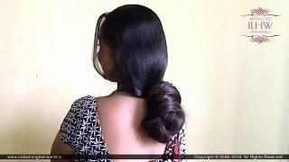 ILHW Rapunzel Santu Sensual Loose Knot Bun On Her Back Bun Drop