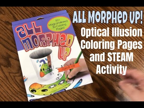 All Morphed UP! Optical Illusion STEAM Activity / Anamorphic / Anamorphosis