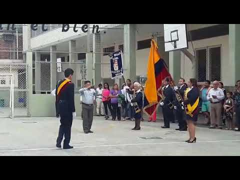 Jurando la Bandera Tricolor