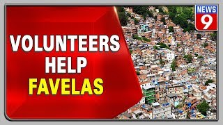 Volunteers Donated Food And Groceries To Residents Of Favelas