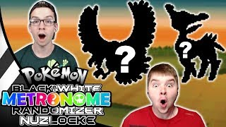 INSANE Legendary Encounters! Pokemon Black and White Metronome Randomizer Nuzlocke #19
