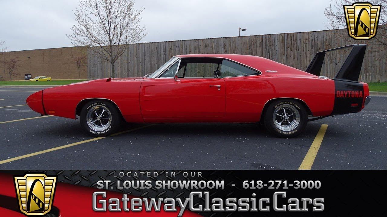 1970 dodge charger daytona tribute stock 7684 gateway classic cars st louis showroom youtube. Black Bedroom Furniture Sets. Home Design Ideas
