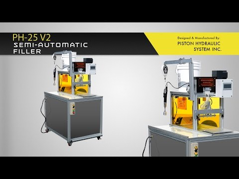 PH 25 V2 e-Liquid e-Juice Filling Machine