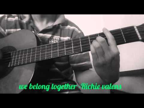 Richie valens we belong together (guitar) - YouTube