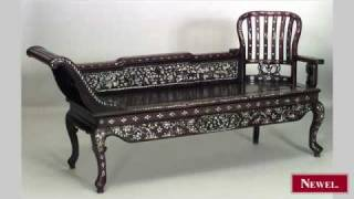 Antique Oriental Burmese Style (19th Cent) Rosewood And