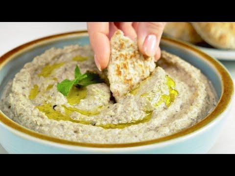 Бабагануш / Babaganush. Наивкуснейшая закуска из запеченных баклажанов. Рецепт от Всегда Вкусно!