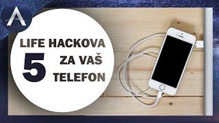 5 LIFE HACKOVA ZA VAS TELEFON! EP 5