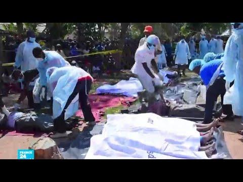 تنزانيا: فرق الإنقاذ تواصل البحث عن ناجين في حادثة غرق عبارة في بحيرة فيكتوريا  - نشر قبل 2 ساعة