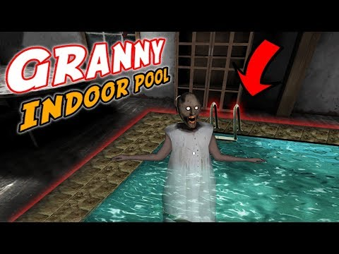 Granny's Beautiful *NEW* INDOOR POOL!!!   Granny The Mobile Horror Game (Mods)