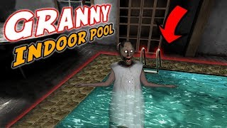 Granny's Beautiful *NEW* INDOOR POOL!!! | Granny The Mobile Horror Game (Mods)
