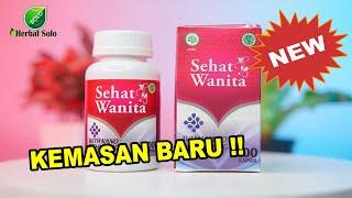 Sehat Wanita Asli Original - Isi 100 Kapsul - Pengganti Walatra Bersih Wanita - Obat Herbal Kista Miom Keputihan Nyeri Haid Penyubur Kandungan