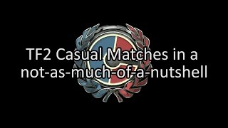 TF2 Casual Matches in a not as much of a nutshell