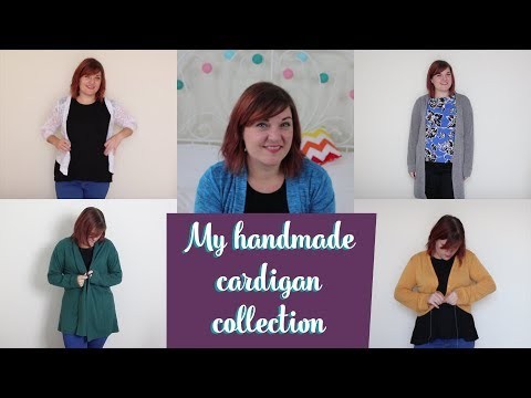 My handmade cardigan collection