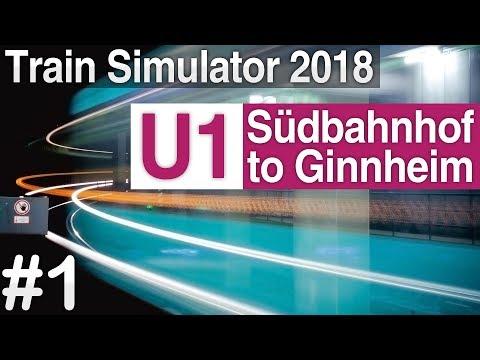 [TS 2018] U-Bahn Frankfurt: U1 to Ginnheim