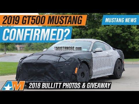 2019 Mustang GT500 Gets 5.2L Supercharger + 2018 Bullitt Mustang Photos & Giveaway