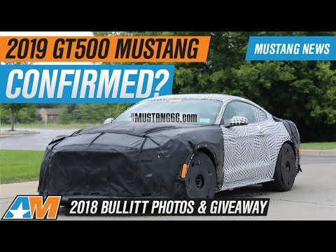 Ford Mustang GT Gets .L Supercharger +  Bullitt Mustang Photos & Giveaway