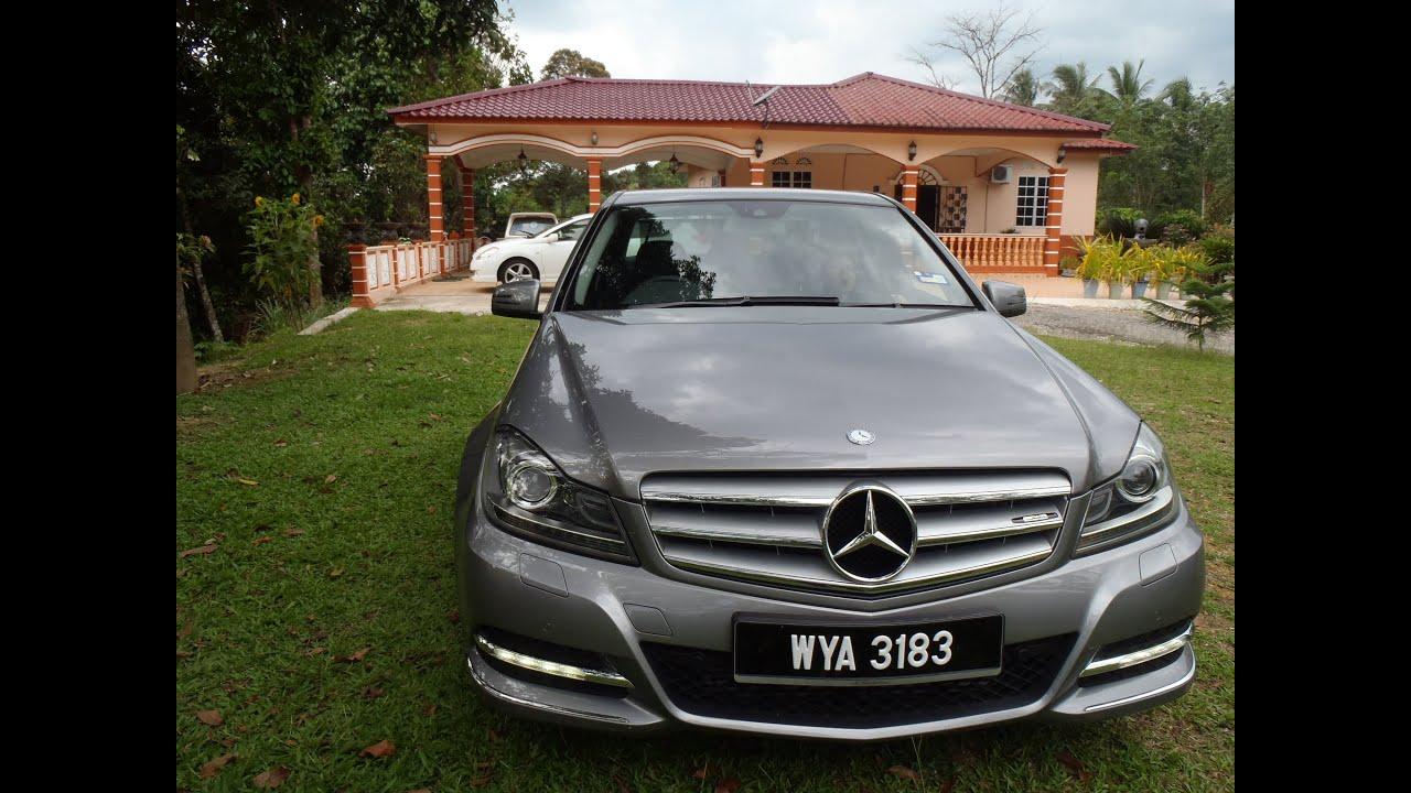 Mercedes Benz C250 Avantgarde W204 Malaysia 2013 Youtube