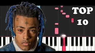 XXXTENTACION'S TOP 10 SONGS ON PIANO