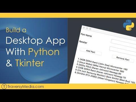Desktop GUI App With Python & Tkinter
