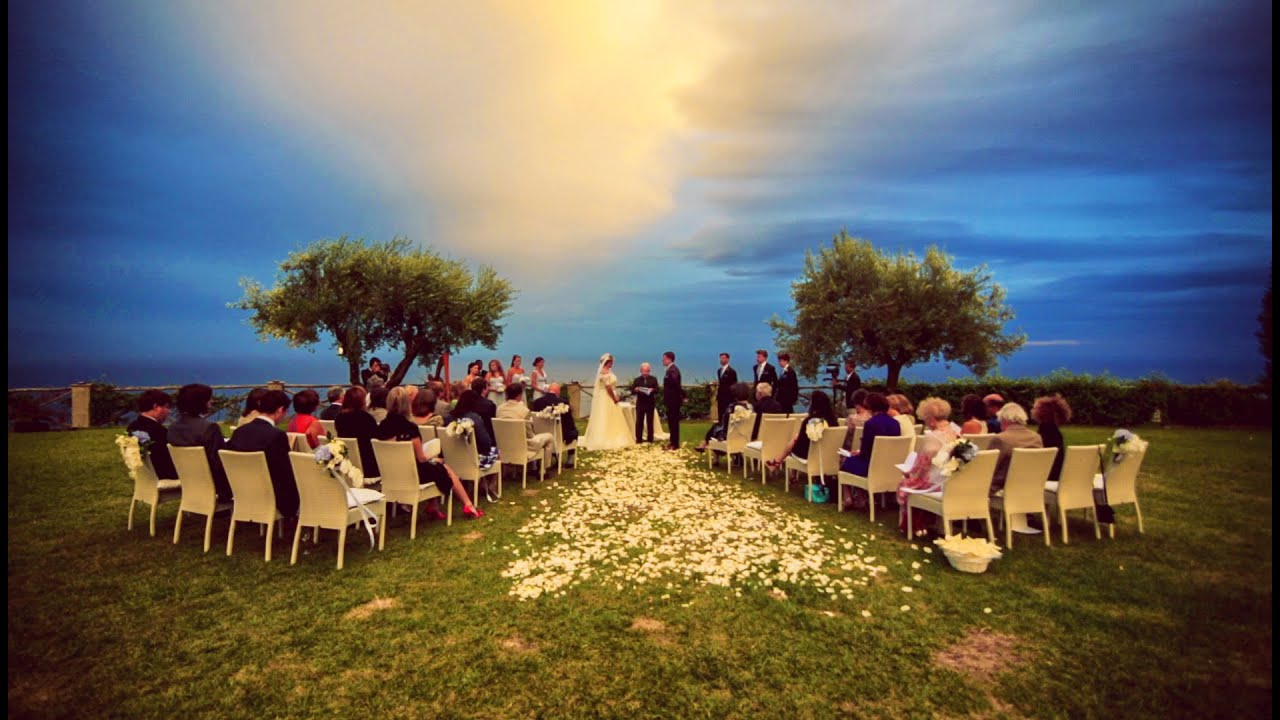 Destination Wedding In Ravello Amalfi Coast Catherine Samuel