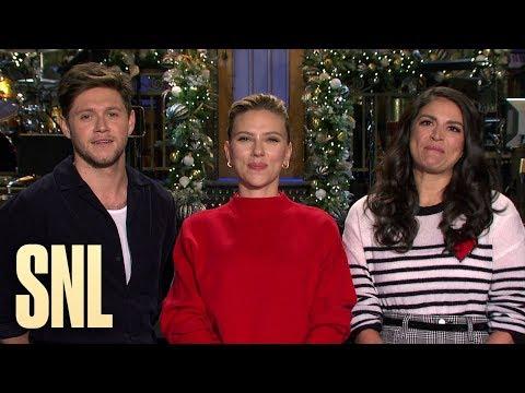 Chris Davis - REMINDER: Niall Horan and Scarlett Johansson TONIGHT!