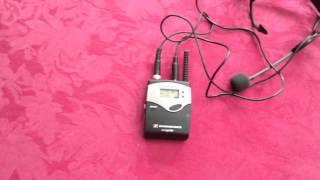 Sennheiser SK2020 / EK2020 Wireless Audio System