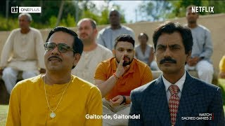 Sacred Games S2 on the OnePlus 7 Pro | True Immersion