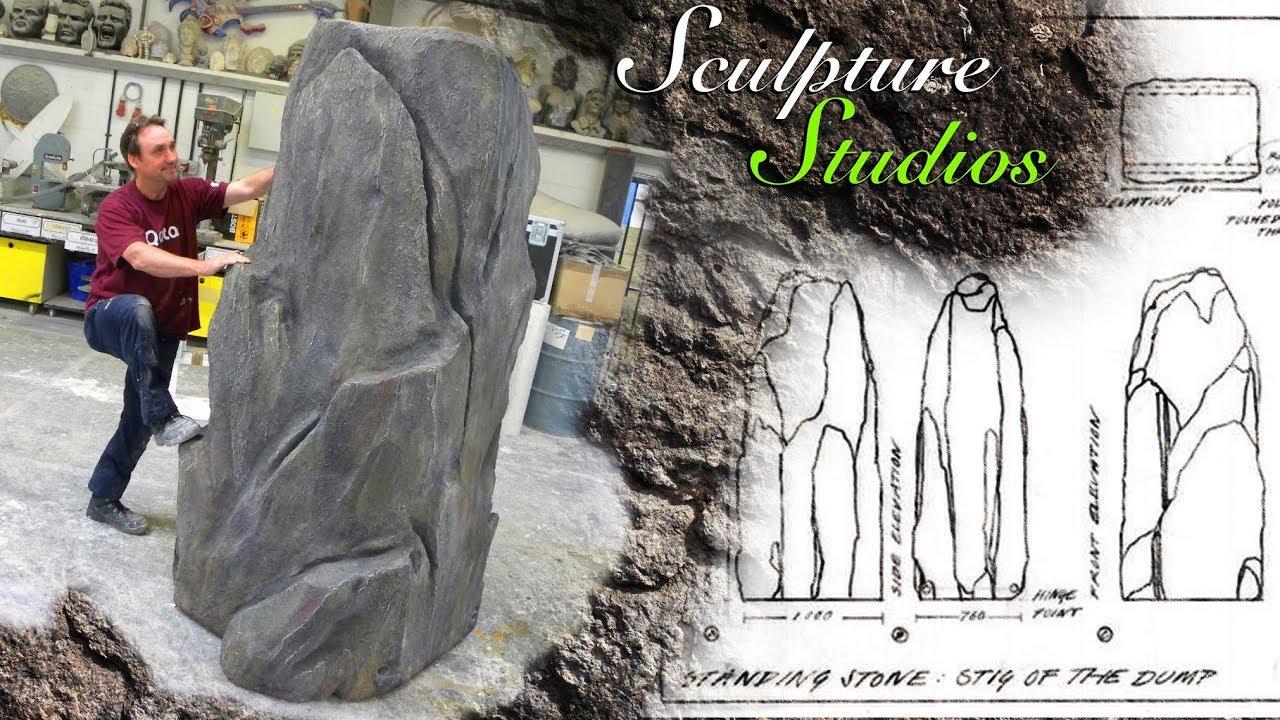 Rock / Stone Prop - Stig of the Dump Outdoor Theatre Performance by  Sculpture Studios