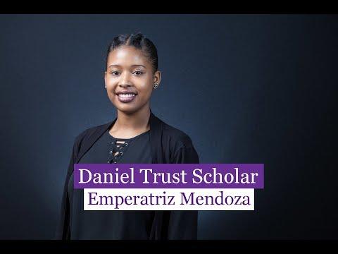 2018 Daniel Trust Scholar Emperatriz Mendoza
