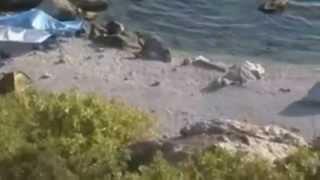 Форос дикий нудистский пляж в Крыму(Отдых в Форосе в палаточном городке http://asinfo.com.ua/crimea/booking_hotel.php?id=872., 2014-02-25T14:03:58.000Z)