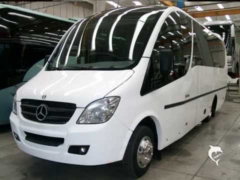 minibus unvi compa gt su meccanica mercedes 818 youtube. Black Bedroom Furniture Sets. Home Design Ideas