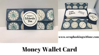 Money Wallet Card - Quick and Easy