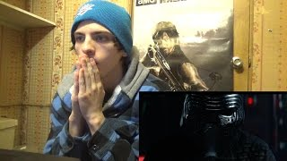 Star Wars: The Force Awakens OFFICIAL TRAILER REACTION